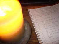 Nathaniel-candle-journal